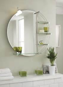800mm bathroom mirror with light and shelves wall