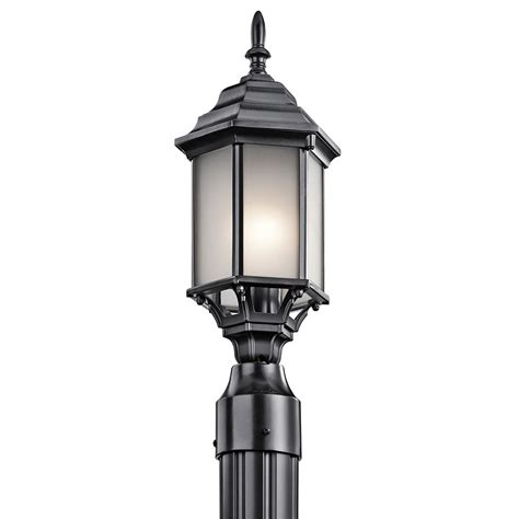 Kichler Exterior Lighting Kichler 49256bks Chesapeake Traditional Black Exterior Post Lighting Kic 49256bks