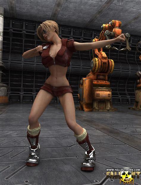 Blonde D Slut Dancing Around Naked