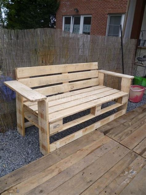 Pallet Furniture Designs by Rustic Planked Pallet Wooden Furniture Pallets Designs