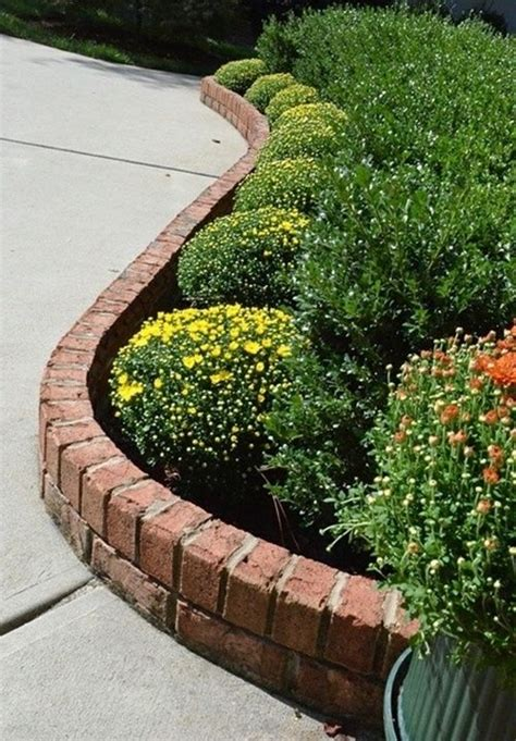 Raised Garden Bed Edging Ideas Raised Flower Beds Brick Gardening Raised Flower Beds Bricks And Raising