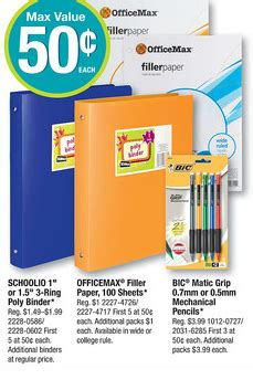 printable tickets at office max new bic stationary product printable freebies at staples