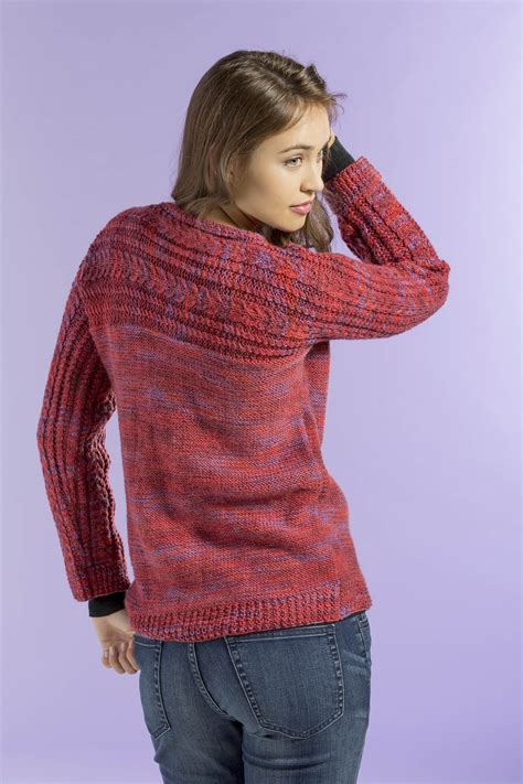 pattern of sweaters free pattern friday siren sweater universal yarn