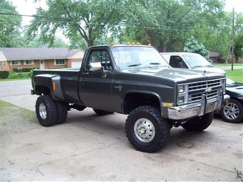 lifted gmc dually chevy 4x4 trucks with rally wheels olyella1ton s
