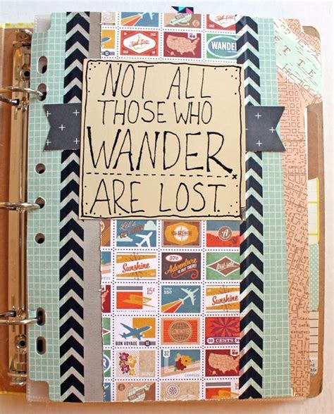 Best 25 Travel Scrapbook Pages Ideas On Scrap Kotaksurat