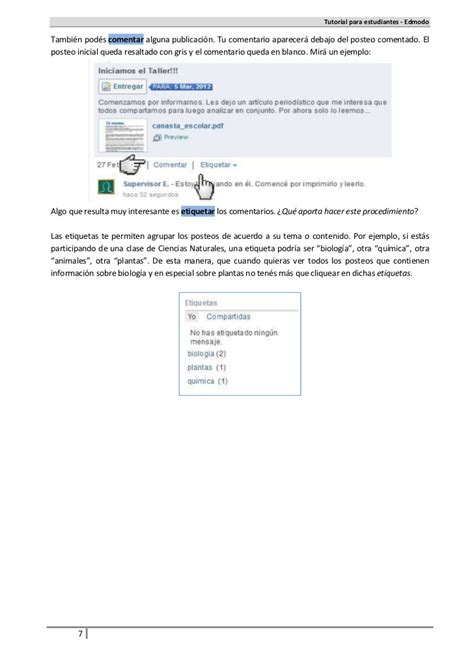 Tutorial Edmodo Para Alumnos | tutorial alumnos edmodo