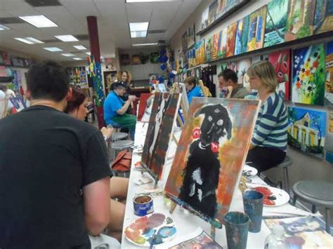 painting with a twist paint your pet paint a portrait of your at painting with a twist