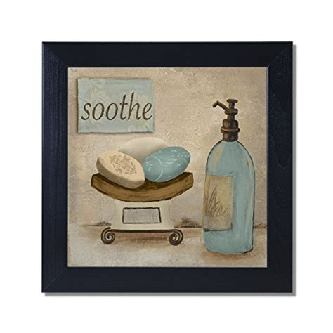 bathroom framed wall art amazoncom