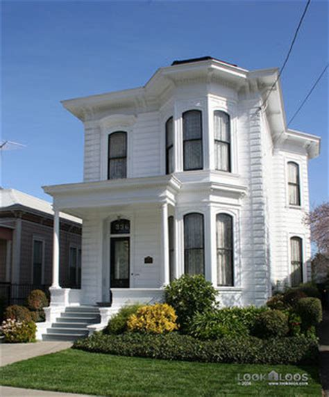 Italianate Style House by Restored Italianate Victorian In San Jose Hooked On Houses
