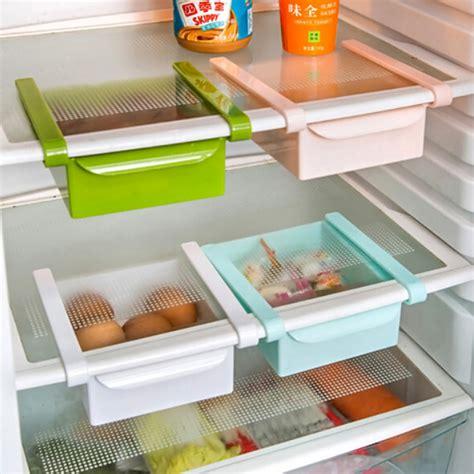 Space Saver Shelves For Kitchen by New Slide Kitchen Fridge Freezer Space Saver Organizer Storage Rack Shelf Holder