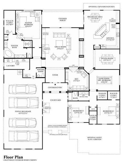 toll brothers floor plan one day