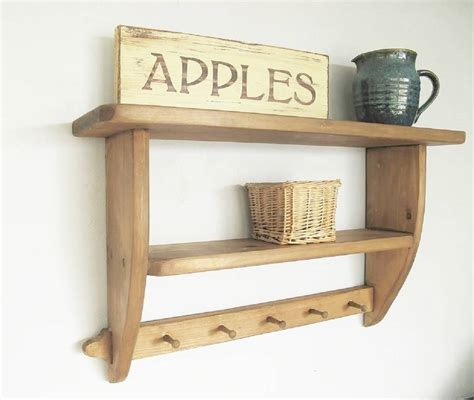 country kitchen shelf vintage country kitchen shelf by seagirl and magpie