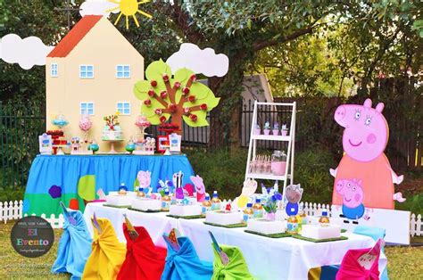 Diy Summer Decorations For Home by Kara S Party Ideas Peppa Pig Third Birthday Party