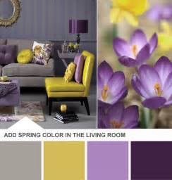 Purple Yellow And Grey Bedroom » New Home Design