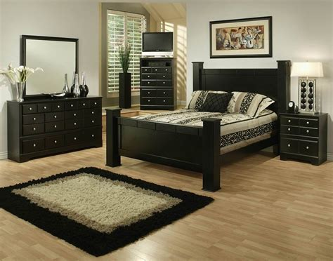black queen size bedroom sets sandberg elena 33412f 33412h 33462r black queen size wood