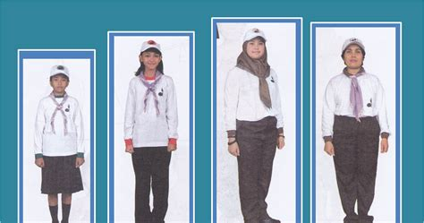 Baju Siaga Panjang Kombinasi Sdmi No 7 seragam kegiatan siaga penggalang penegak pandega pembina putri ensiklopedia pramuka