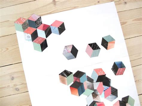Step By Step Patchwork - make a collage picture out of magazines and paper with