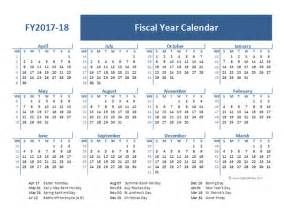 financial year calendar template 2017 fiscal year calendar template uk free printable