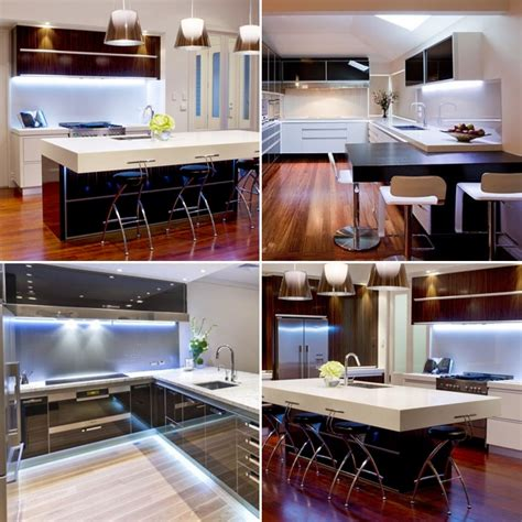 cool white under cabinet kitchen lighting plasma tv led