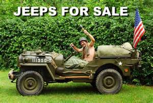 Jeeps For Ww2 Jeeps For Sale World War 2 Vehicles For Sale