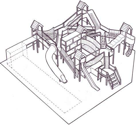 sketchbook play playground equipment simon cross portfolio