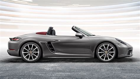 porsche sports car wallpaper porsche 718 boxster sports car grey cars