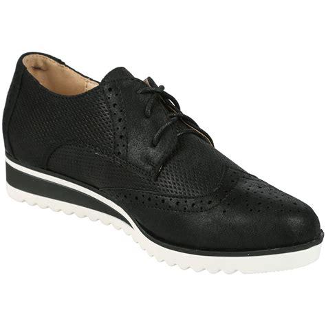 Sandal Kelom Heels Wanita Bcc 893 Womens Shoes Chunky Wedge Brogues Metallic Flatform