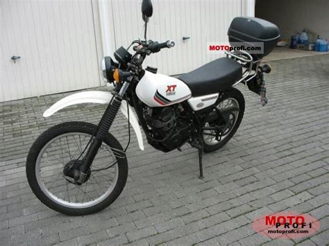 Yamaha Xt 125 Aufkleber by Tankaufkleber Baujahr 87