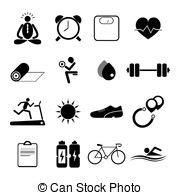 clip art de vectores de conjunto salud icono vector condici 243 n f 237 sica conjunto salud iconos azul keepieng