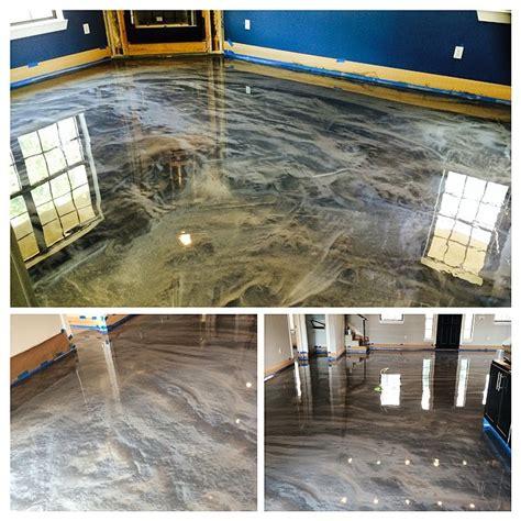 metallic epoxy flooring dallas tx esr decorative concrete experts decorative concrete