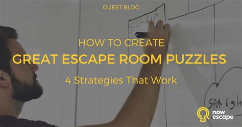 how to create your room creating challenging escape room puzzles nowescape