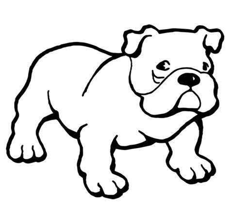 american bulldog coloring pages bulldog coloring page free printable coloring pages