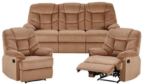 Fantastic Furniture Armchairs by Webster 3 Seater 2 Reclining Armchairs Set Lounge Sets Sofas Armchairs Categories
