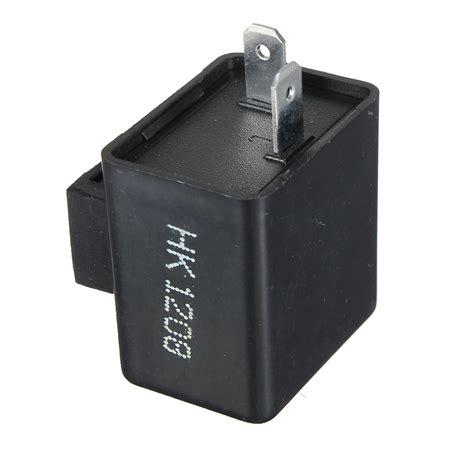 led flasher relay resistor universal motorcycle flasher relay led indicator resistor 2 pin 12v uk seller ebay