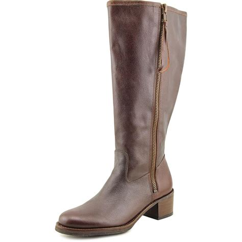 wide calf leather boots lucky brand hyperr wide calf w toe leather