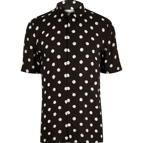 Dotted Shirt black dotted sleeve shirt shirts sale