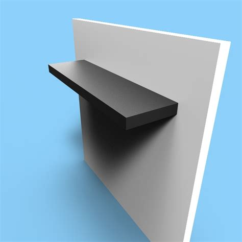 floating shelves seamless ss custom metal home