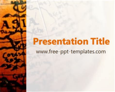 asia ppt template free powerpoint templates