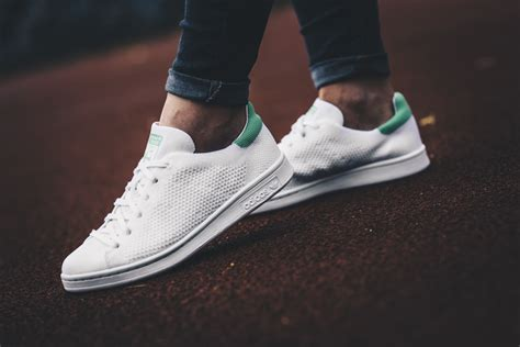 womens shoes sneakers adidas stan smith primeknit bz