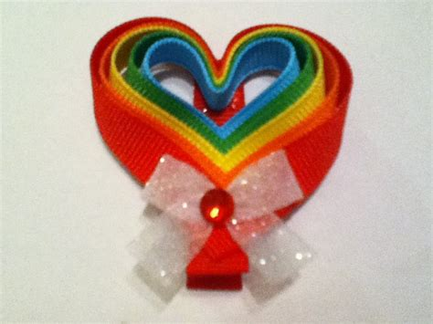 Valentine Ribbon Sculptures Instructions | 17 best images about valentines day hairbows on pinterest