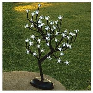 small tree with battery operated lights true value led bonsai tree 48 white lights battery