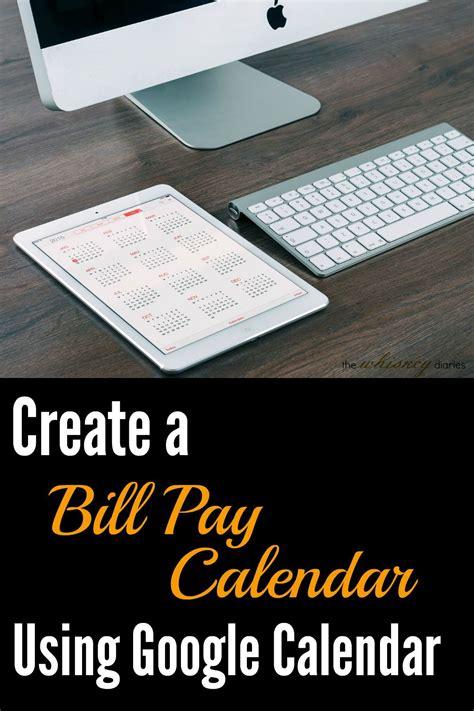 Create A Calendar In Drive