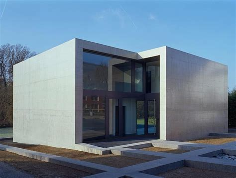 cube house contemporary minimalist house in concrete cube frame findling house home