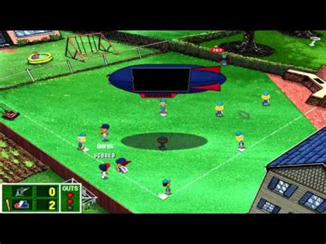 backyard baseball 2000 backyard baseball 2001 episode 2 home opener youtube