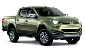 Fiat Truck Fiat S Re Badged 2015 Mitsubishi L200 Truck Conceptualized