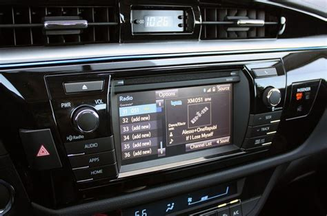 Toyota Corolla 2014 Radio 2014 Toyota Corolla Radio Cars