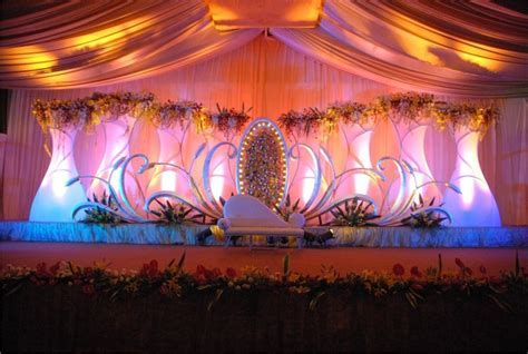 South Indian Wedding Decoration Ideas   Wedding stages
