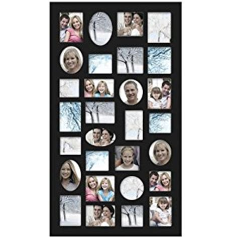 wall collage frames 2016 multi frame wood baby picture amazon com adeco pf9105 decorative black wood wall