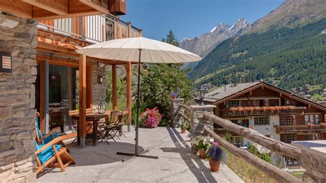 alpen chalets mieten chalet ibron villa mieten in schweizer alpen zermatt