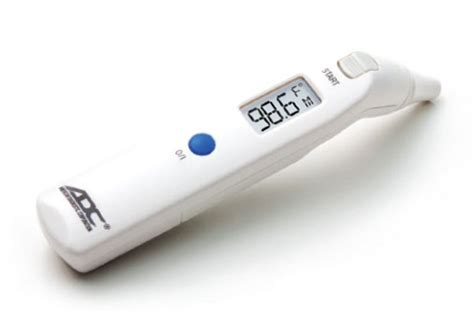 Termometer Infrared Harmed adtemp 424 infrared tympanic thermometer